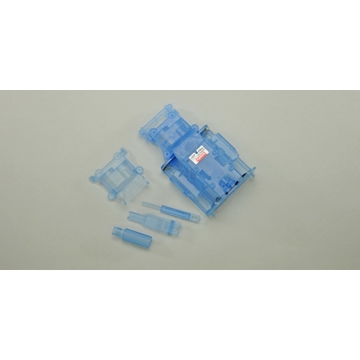KYOSHO Chassis Miniz Mr03 Skeleton Bleu, MZF401CB