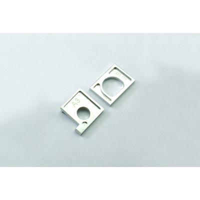 KYOSHO Support moteur Alu argent Miniz AWD, MDW007-03
