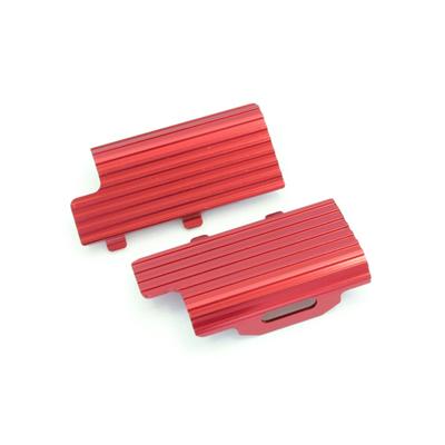 KYOSHO Clip de batterie en alu rouge Mini z buggy, MBW014R
