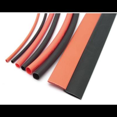 KONECT Assortiment de tubes thermoretractables 1.5/3/5/8mm 20cm rouge/noir, KN-130100