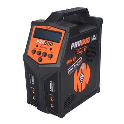 KONECT Chargeur ProDuo 2x80W AC/DC, KN-PRODUO80