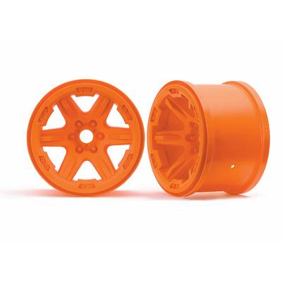 TRAXXAS Jantes 3.8 Oranges 17mm (2), 8671A