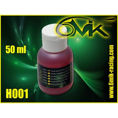 6MIK Huile de filtre à air (50ml), H001