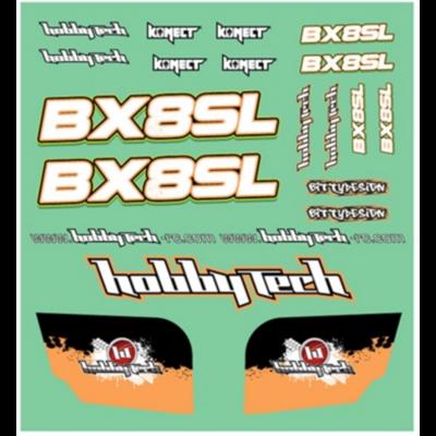 HOBBYTECH Planche de stickers de BX8SL, STICK-BX8SL
