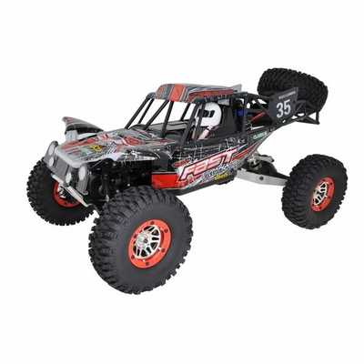 RCSYSTEM VOITURE SAND MASTER ROUGE 1/10 4x4 BRUSHED RTR, RC710R