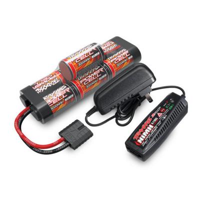 Traxxas Chargeur 4A + Ni-Mh 8.4V 3000mAh hump, 2984G