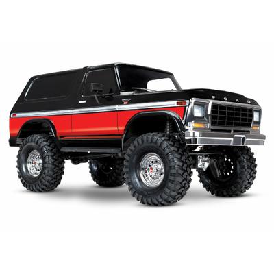 Traxxas TRX-4 Ford Bronco Ranger XLT Rouge RTR, 82046-4