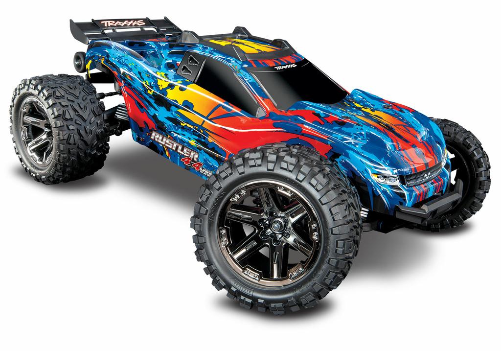67076-4-Rustler-4x4-VXL-Red-3QTR-FRONT - Copie