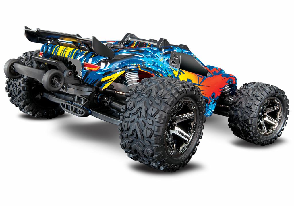 67076-4-Rustler-4x4-VXL-Red-rear