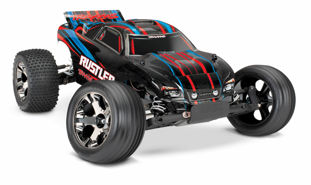 37076-4-Rustler-VXL-RED-3qtr-front