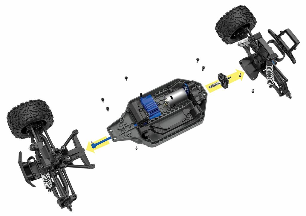67064-1-Rustler-4X4-Modular-Chassis