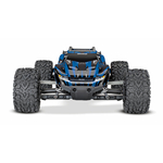 67064-1-Rustler-4x4-Brushed-BLUE-Frontview