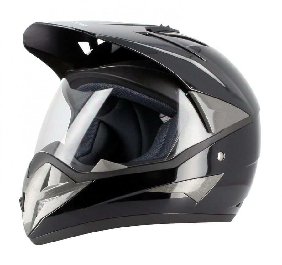casque noir s moto enduro route accessoires moto casque enduro. Black Bedroom Furniture Sets. Home Design Ideas