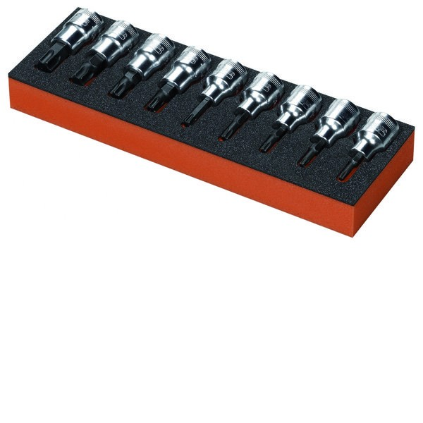 t2 module douille torx 6p bahco modules pour servante. Black Bedroom Furniture Sets. Home Design Ideas