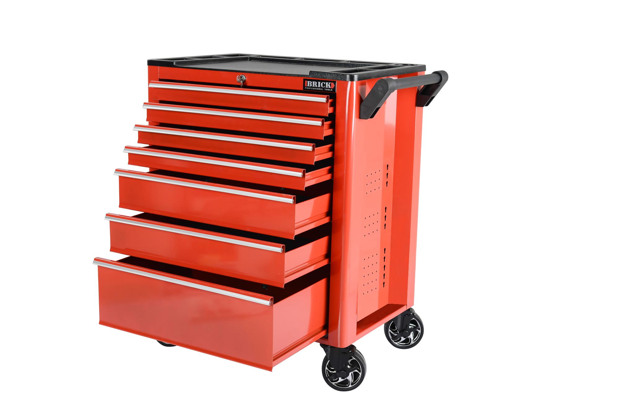 Servante d 39 atelier 7 tiroirs vide outillage automobile for Tapissier d ameublement pas cher