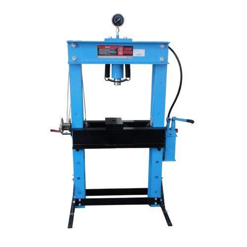 Presse hydraulique d 39 atelier 50t outillage automobile for Mini pressa idraulica