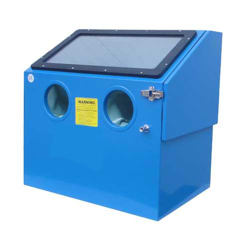 cabine de sablage microbilleuse 110 litres