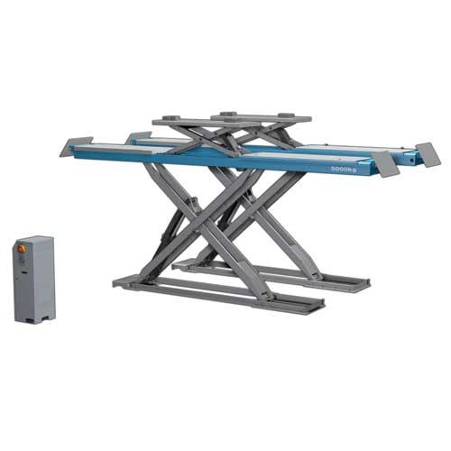 pont l vateur double ciseaux 5t 380v outillage de garage pas cher. Black Bedroom Furniture Sets. Home Design Ideas