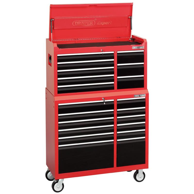 Servante d 39 atelier 12 tiroirs coffre outils 8 tiroirs for Garage seat fontaine