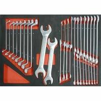 Module mousse clés mixte/ plates/ polygonales