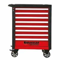 Servante d'atelier 8 tiroirs Rouge/ Noire