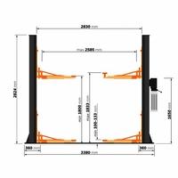 pont 2 colonnes-230v-securité manuel