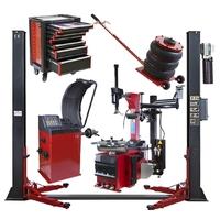Pack garagiste 5 pièces 380V ( Pont élévateur, machine à pneu, servante ...)