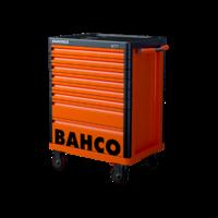 Servante d'atelier 8 tiroirs orange