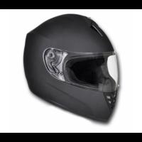 Casque intégral moto noir Taille XL