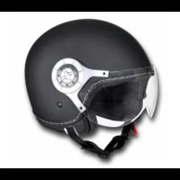 Casque moto noir Taille L
