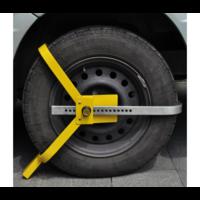 Sabot de roue antivol acier 13 à 15 pouces
