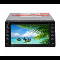 "Auto radio écran LCD USB 2 DIN lecteur SD Bluetooth 6,2"""