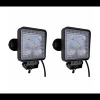 Phare de travail à LED 15W 2pcs