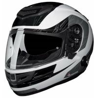 Casque intégral moto SP-110 S Furia noir/gris L