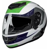 Casque intégral moto SP-110 S Furia vert L