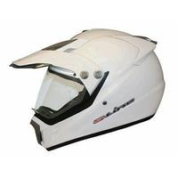 Casque  Blanc XS moto enduro