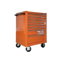 SERVANTE D'ATELIER 8 TIROIRS  Couleur orange