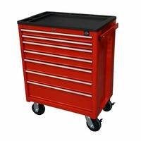 Servante d'atelier 7 tiroirs rouge