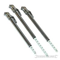 24 manomètres pour pneus 10 - 100 psi (0,7 - 6,9 bar)