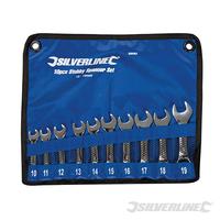 Trousse de 10 clés mixtes courtes 10 - 19 mm