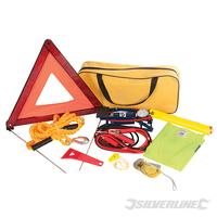 Kit d'urgence première nécessité pour voiture 9 pièces