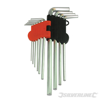 Jeu de 10 clés BTR Expert 1,5 - 10 mm