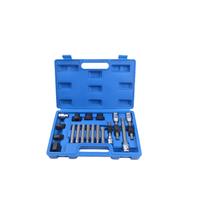 Coffret d'outils pour poulie d'alternateur 18 pces