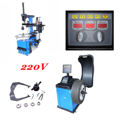 pack machine a pneu et equilibreuse 220 volts
