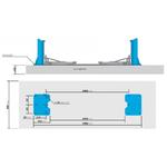 pont elevateur 2 colonnes-400v