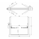 implantation pont elevateur 2 colonnes