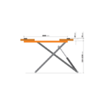 cote pont ciseaux mobile