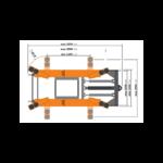 dimensions pont ciseaux mobile
