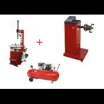 pack-machine-pneu-equilibreuse-manuelle-compresseur-220-volts