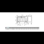 dimensions servante sur trolley bahco